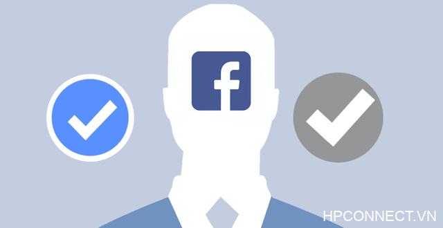 Dấu tích xanh Facebook
