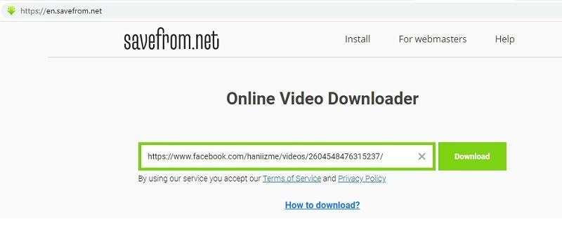 download-video-on-fb